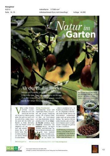 05. September - Natur im Garten