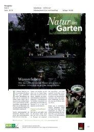 05. Juni - Natur im Garten