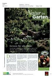 06. Mai - Natur im Garten