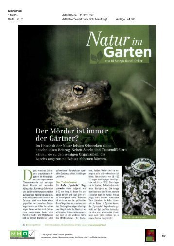 06. November - Natur im Garten