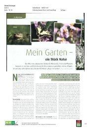 Mein Garte - Natur im Garten