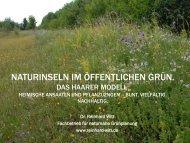 Dr. Reinhard Witt, Deutschland - Natur im Garten