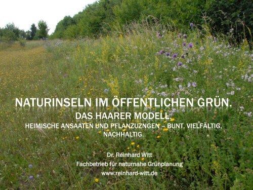 Dr Reinhard Witt Deutschland Natur Im Garten