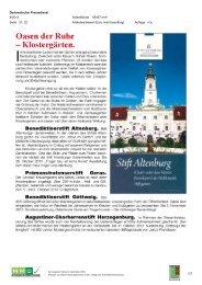 30. September; Diplomatischer Pressedienst - Natur im Garten