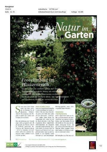 03. Oktober - Natur im Garten