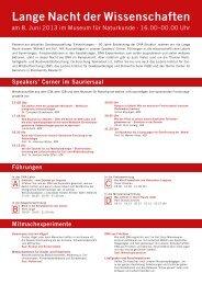 komplettes Programm (pdf) - Museum für Naturkunde