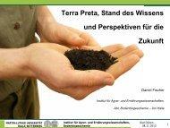 Terra Preta, Stand des Wissens und Perspektiven für die ... - Naturland