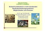 Bodenfruchtbarkeit in nicht wendenden ... - Naturland