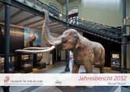 Jahresbericht 2012 - Museum für Naturkunde
