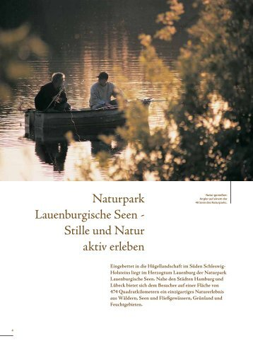Download Image-Broschüre S. 4-13 - Naturpark Lauenburgische Seen