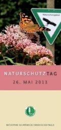 Flyer Naturschutztag 2013 im Naturpark Schwäbisch-Fränkischer ...