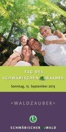 Waldzauber « - Naturpark Schwäbisch Fränkischer Wald