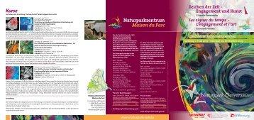 Naturparkzentrum Maison du Parc - im Naturpark Obersauer