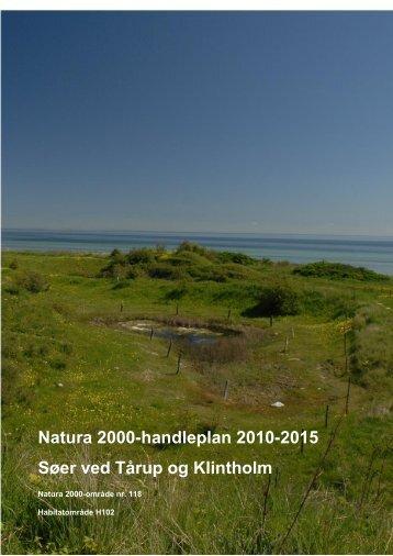 Søer ved Tårup og Klintholm - Naturstyrelsen