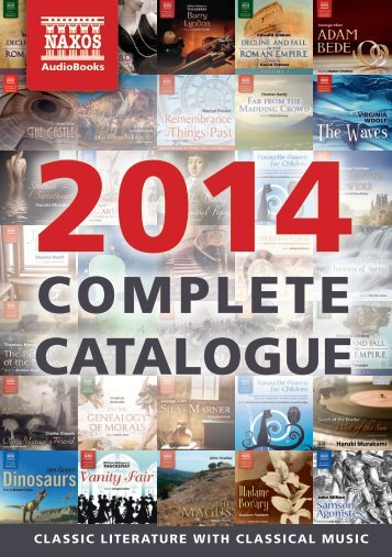 Naxos AudioBooks Catalogue