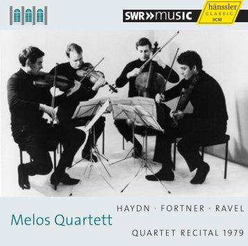 Melos Quartett - Naxos Music Library