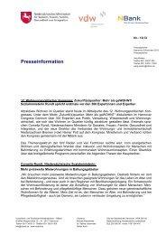 Pressemitteilung vom 6. November 2013 zum 12 ... - bei der NBank