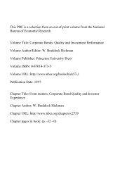 PDF (424 K) - National Bureau of Economic Research