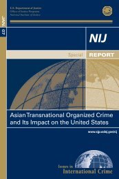 Asian Transnational Organized Crime and Its Impact on the United ...