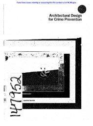 Architectural Desi·gn for Crime Prevention - National Criminal ...