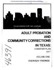 adult probation - National Criminal Justice Reference Service