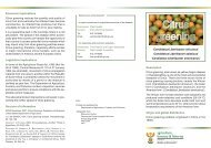 Citrus greening - Department of Agriculture, Forestry and Fisheries