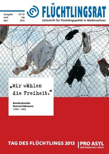 Heft 138 als pdf - Flüchtlingsrat Niedersachsen