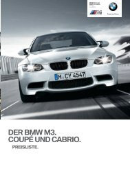 Preisliste downloaden - BMW Nefzger