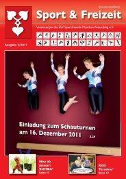 Ausgabe 4-2011 - ESV Neuaubing