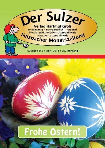 Frohe Ostern! - Der Sulzer