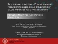 netl 2013 multiphase flow workshop august 6, 2013 - National ...