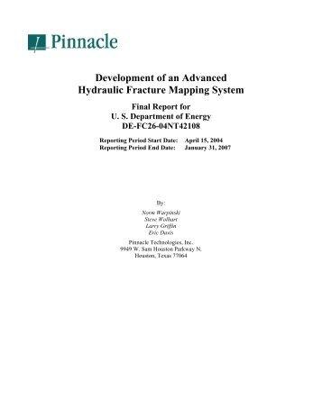 Final Report - National Energy Technology Laboratory - U.S. ...