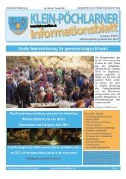 Gemeindezeitung Dezember 2013 - NetTeam Internet