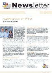 Newsletter 2/2013 - Österreichisches Netzwerk Betriebliche ...