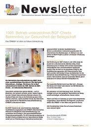 Newsletter 4/2013 - Österreichisches Netzwerk Betriebliche ...