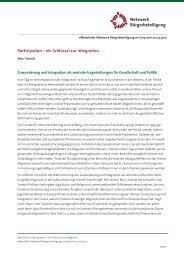 Beitrag als pdf downloaden - Netzwerk Bürgerbeteiligung