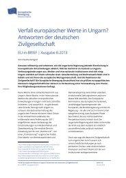 Verfall europäischer Werte in Ungarn? - Netzwerk Europäische ...