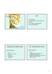 Powerpoint-Präsentation - Netzwerk Homöopathie Basel