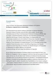 Download PM Sieger Phase 2 BPWN 2013 - Netzwerk Nordbayern