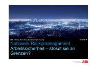 Erwünschtes Verhalten - Netzwerk Risikomanagement
