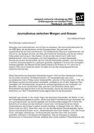 (11 S., 49 KB) [PDF] - Netzwerk Recherche