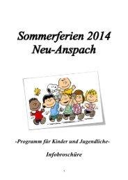 Broschüre 2014 - Neu-Anspach