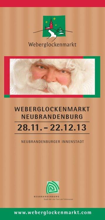 Neubrandenburger Weihnachtsmarkt - Touristinfo Neubrandenburg