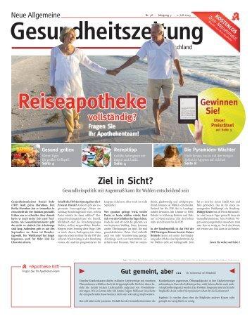 Neue Allgemeine Gesundheitszeitung für Deutschland, Nr . 76, Juli ...