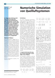 Numerische Simulation von Quellluftsystemen - Neue Verpackung