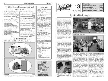 NZ Junior 2008/13 - Neue Zeitung