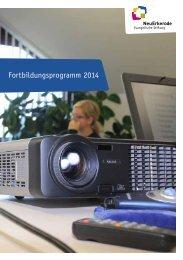 Fortbildungsprogramm 2014 - NeuErkerode