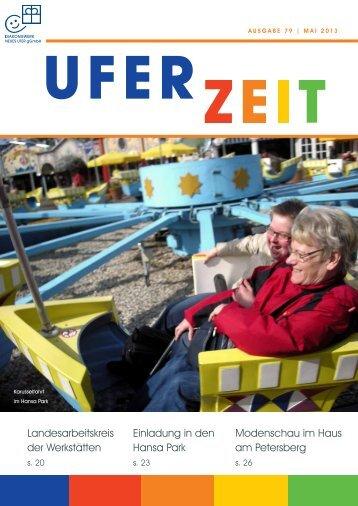Ausgabe 79/ Mai 2013 - Diakoniewerk Neues Ufer