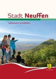 Download Tourismusbroschüre (PDF) - Stadt Neuffen
