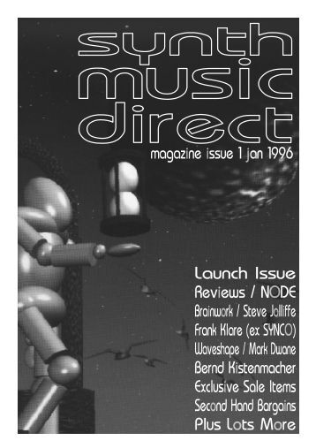 synth music direct · page 1 - The Neu Harmony Web Site